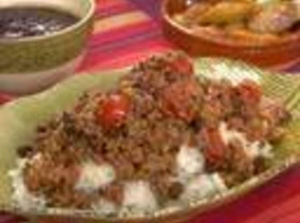 Arroz Con Picadillo Recipe