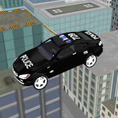 911 Police Car Roof Jumping