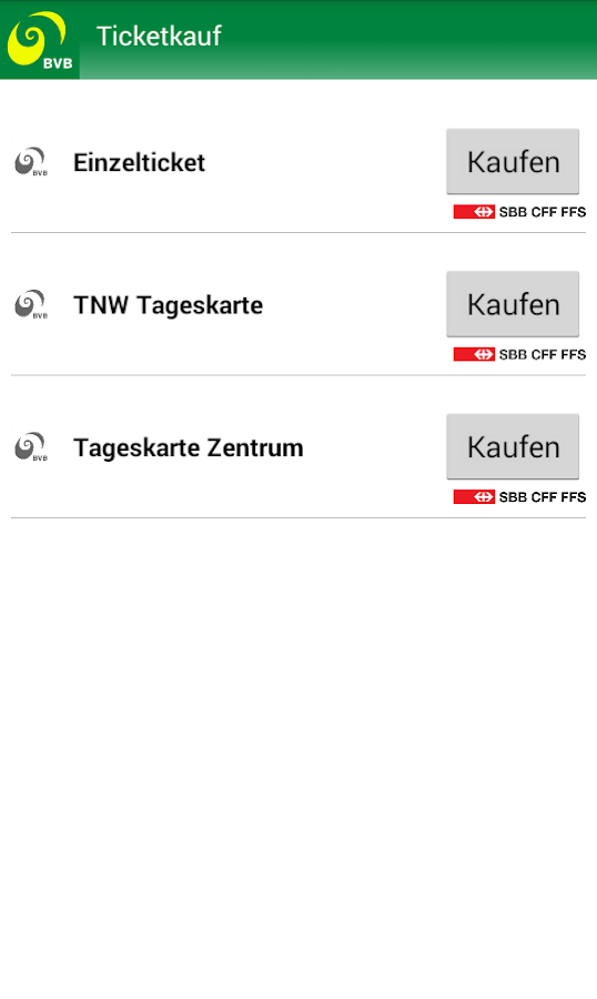 Basel & Regio- screenshot