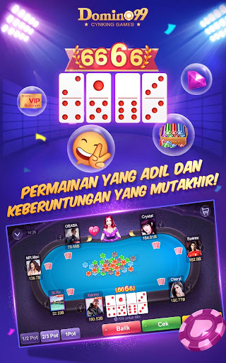 Domino Qiuqiu 99 Awesome Online Card Game Download Apk Free For Android Apktume Com