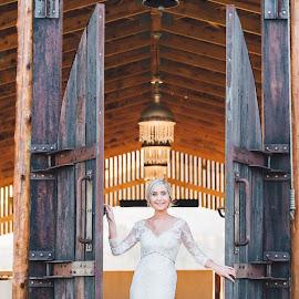 Open door by Junita Stroh - Wedding Bride
