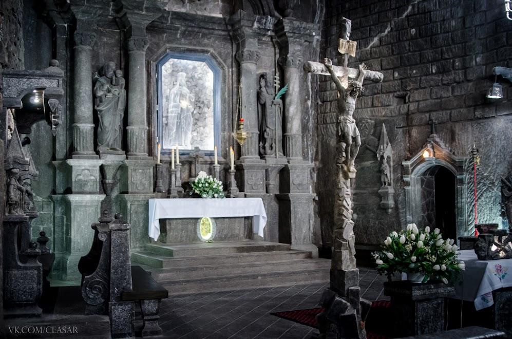 Часовня Святой Кинги, Величка