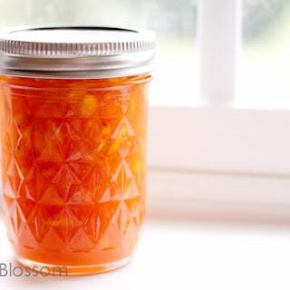 Peach Vanilla Bean Freezer Jam.