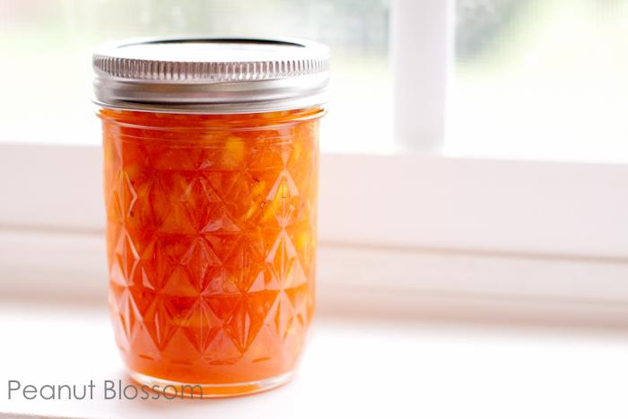 Peach Vanilla Bean Freezer Jam Recipe