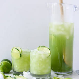 Cucumber Vodka Soda.