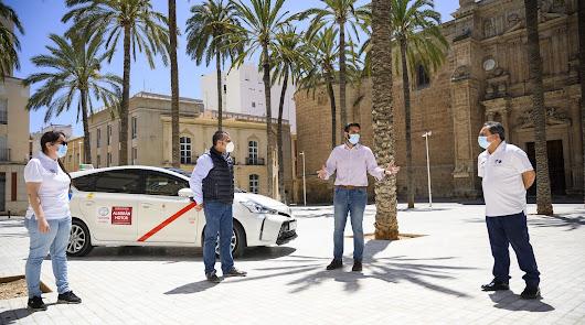 Una subvención de 50.000 euros para revitalizar el sector del taxi en la capital