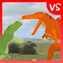 T-Rex Fights Spinosaurus icon