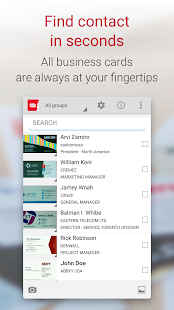 Business card reader free business card scanner apps on google play screenshot image colourmoves