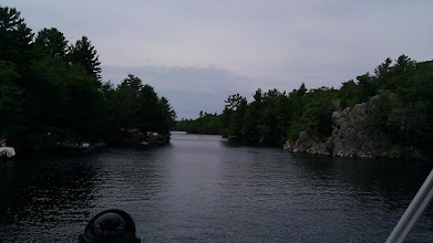Photo: a waterway from Orillia to Big Chute