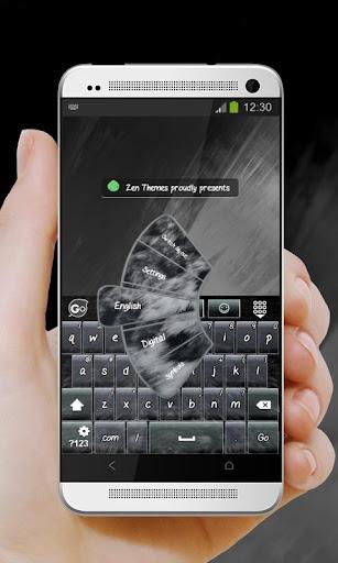 黑色豹纹Hēisè bào wén GO Keyboard