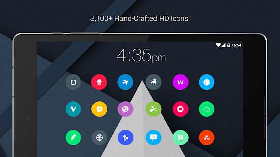 Material Things Colorful Theme Screenshot