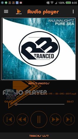 Mp3 Player Color Screenshot
