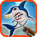 Hunting Angry Shark icon
