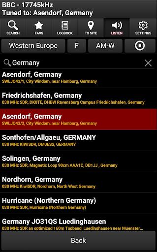 Skywave Schedules screenshot 8