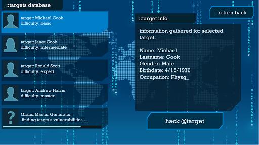 I Hacker - Password Break Puzzle Game apkpoly screenshots 4