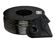 Black PRO Series PLA Filament - 2.85mm (10lb)
