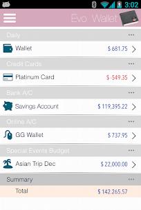 EvoWallet – Money Tracker [Premium] v1.77.049 [Paid] 5
