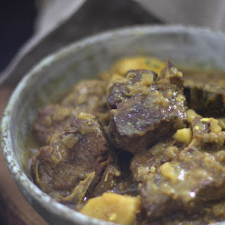 Instant Pot Jamaican Goat Curry