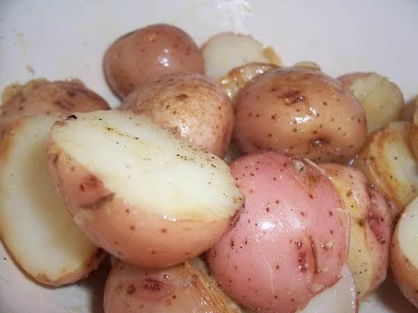 Herbed Baby Potatoes Recipe
