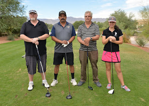 Photo: Tom Driskell, Larry Pilar, David Orgad, Megan Orgad
