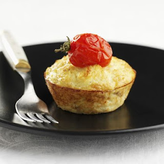 Emmental and Potato Muffins.