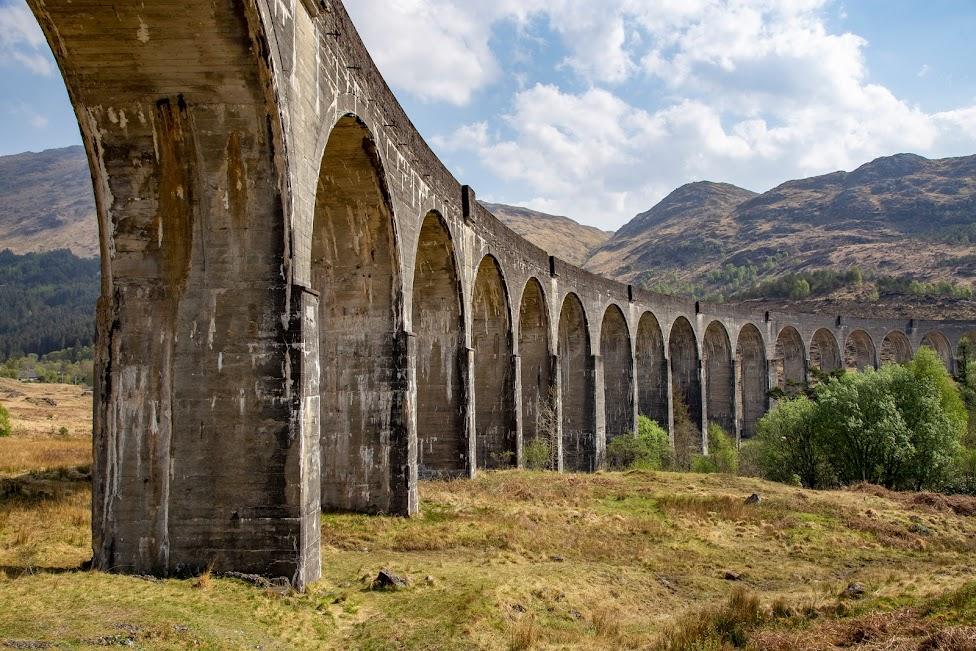 , wiadukt Glenfinnan, Szkocja