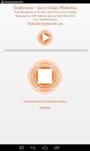 2nd Chakra Healing Meditation screenshot 1