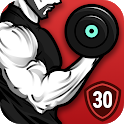 Dumbbell Workout at Home - 30 Day Bodybuilding icon