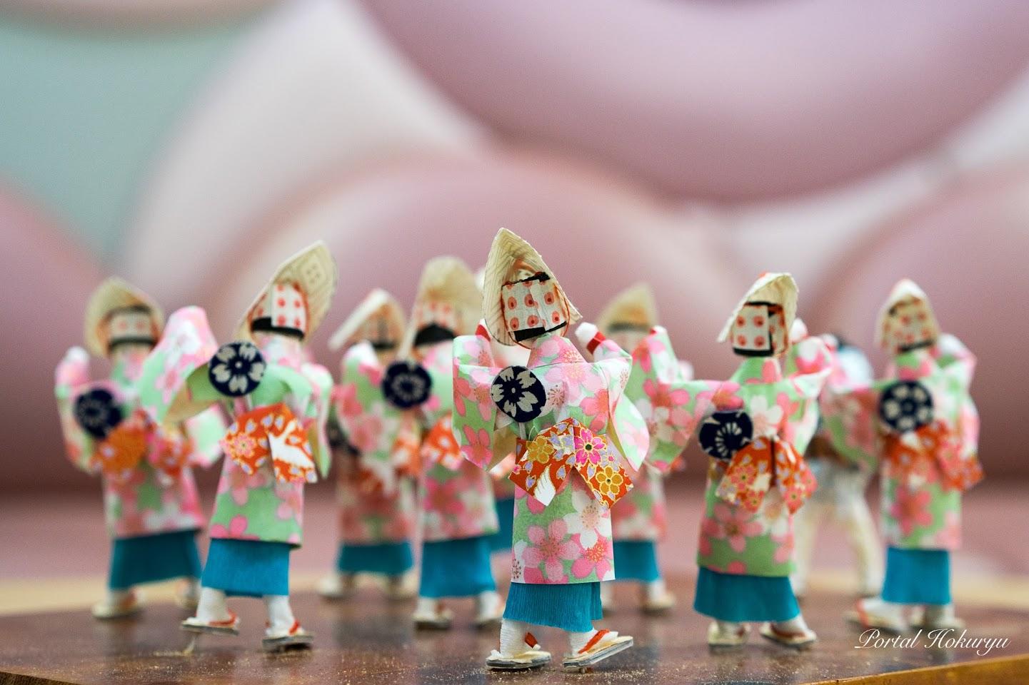 和紙人形「阿波踊り」