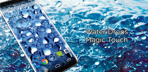 Waterdrops Megic Touch Live Wallpaper App Apk Free Download For
