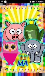 Paint Animals Coloring Screenshot