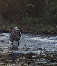 Photo: Fiske i Åkerån Foto: Olov Fällefors