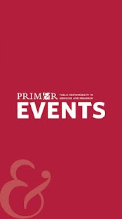 PRIM&R Events - náhled