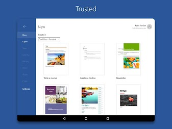 Microsoft Word APK screenshot thumbnail 12