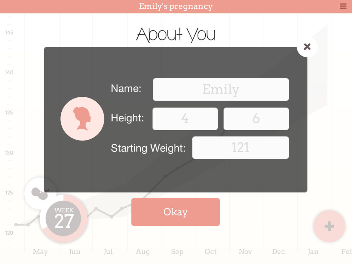 Pregnancy weight tracker pro android apps on google play pregnancy weight tracker pro screenshot nvjuhfo Image collections
