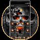 Horrific Flaming Skull Theme Icon Packs apk