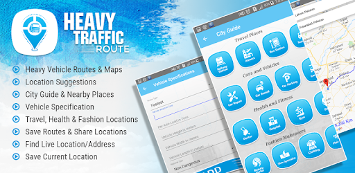Truck gps route navigation for truck routes plan - Apps on Google Play