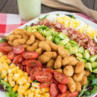 Avocado Shrimp Cobb Salad.