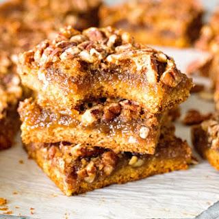 Easy Pecan Pie Bars Recipe