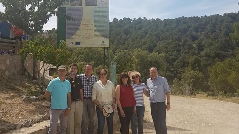 Los parques de Sierra María-Los Vélez y Almühltal celebran su hermanamiento