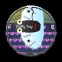 Fluffy Toy GO Keyboard icon