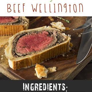 Airfryer Beef Wellington.
