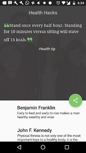 HealthHacks Health Boost tips 1.0 screenshots 1