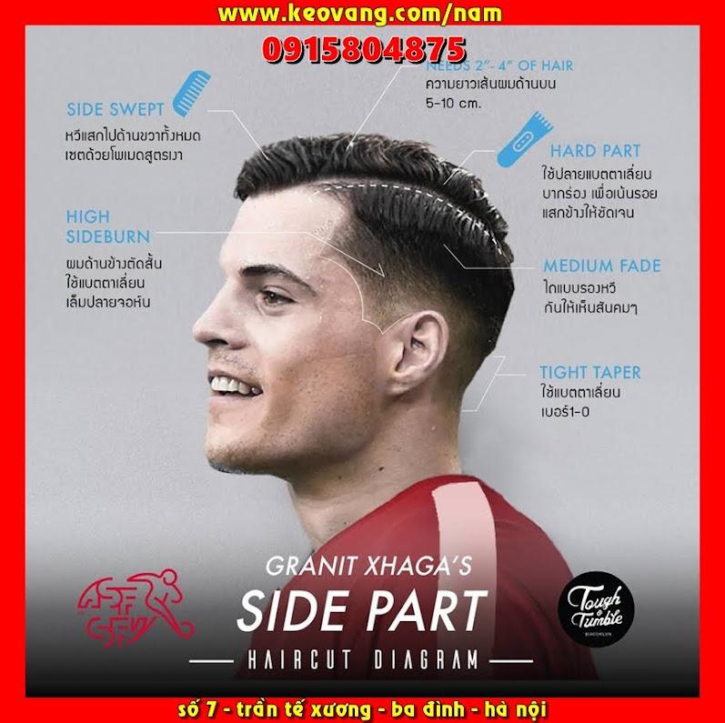 Side Part là kiểu tóc gì? tại sao đàn ông thích cắt tóc side part khi đến Barber Shop