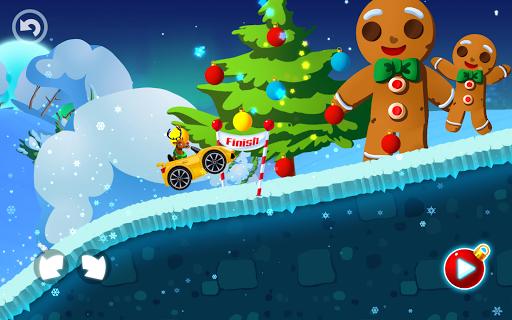Winter Wonderland Snow Racing