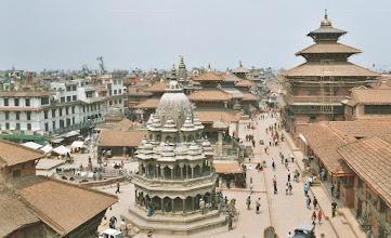 Photo: Am Durbar Square in Patan