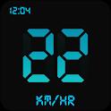 Digital GPS Speedometer Trip Meter HUD View icon