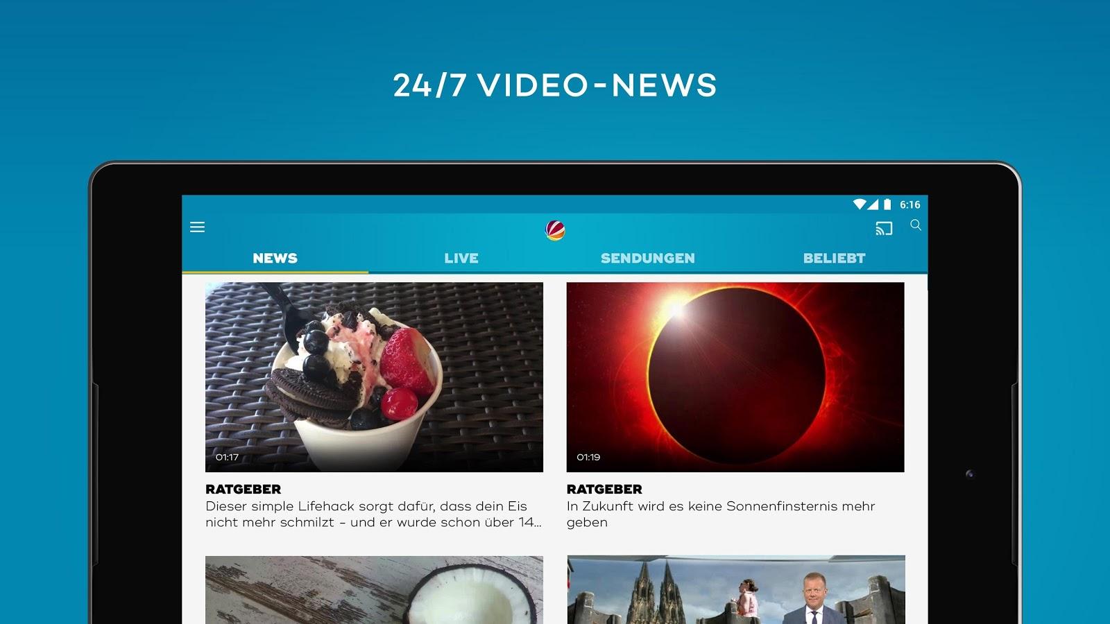 Kostenloses Live TV Und Mediathek