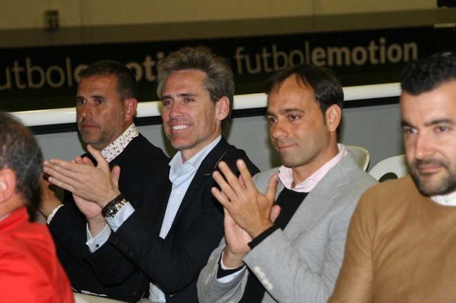 Esteban Navarro, Miguel Corona y Fran Fernández.