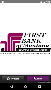 First Bank MT Mobile Banking- screenshot thumbnail